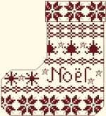Botte de Noël - 66 x 73 points