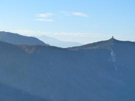 La tour de la Massane, la voisine... de guet