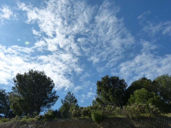 Des nuages juste ce qu'il faut...