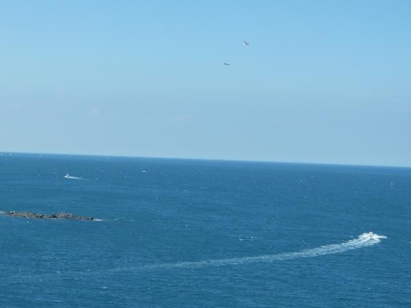 La mer, une dernière fois...