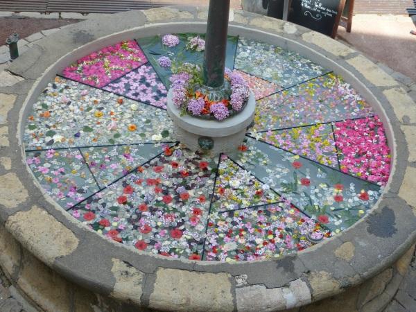 vitrail floral